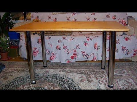 Изготовить стол для кухни своими руками 173