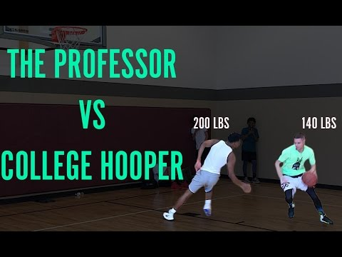 The Professor 1 on 1 Gets Called out by New Orleans College Hooper (видео)
