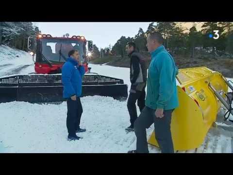 Quand les lacs permettent la fabrication de neige artificielle
