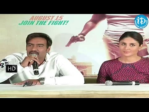 Singham Returns Promotional Watches Launches - Ajay Devgn, Kareena Kapoor