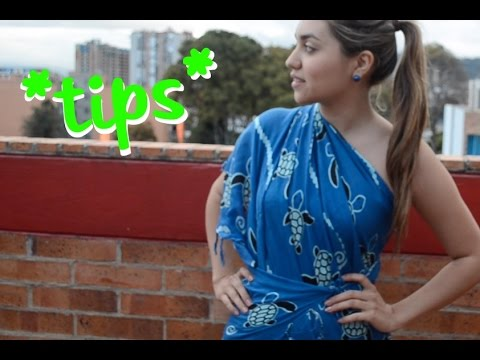 12 formas de usar tu pareo -T13 |Marqueza