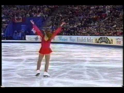 Tara Lipinski (USA) - 1996 World Figure Skating Championships, Ladies' Long Program