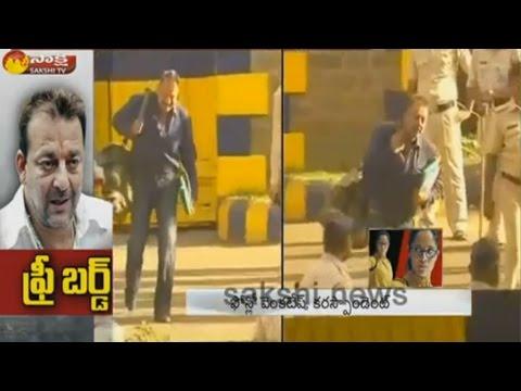 Bollywood Actor Sanjay Dutt To Walk Out Of Yerwada Jail