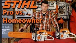 4. Stihl Pro Saw vs. Farm/Ranch