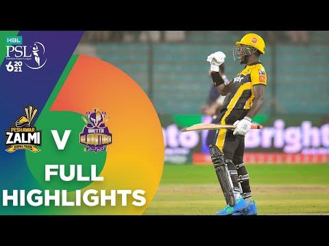 Full Highlights | Quetta Gladiators vs Peshawar Zalmi | Match 8 | HBL PSL 6 | MG2T