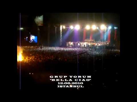 Grup Yorum - Bella Ciao -  İstanbul İnönü Stadı 25.Yıl Konseri 2010 - çav bella