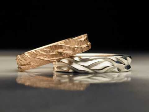 Unique Wedding Rings for Couples Ideas