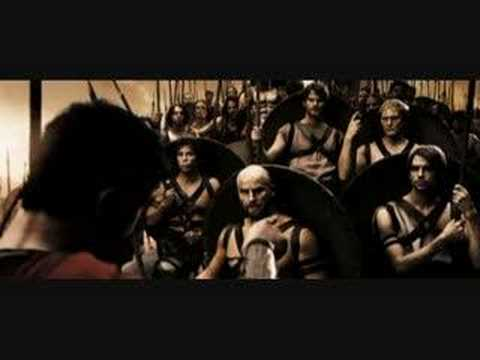 spartan - In 300, King Leonidas Meets Daxos and the other Arcadians.