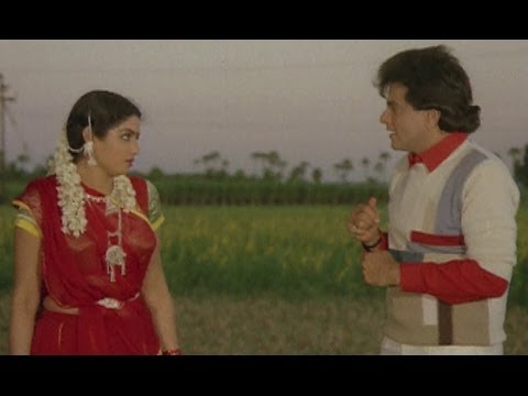 Jeetendra kisses Sridevi - Dharm Adhikari | Sridevi Best Movie
