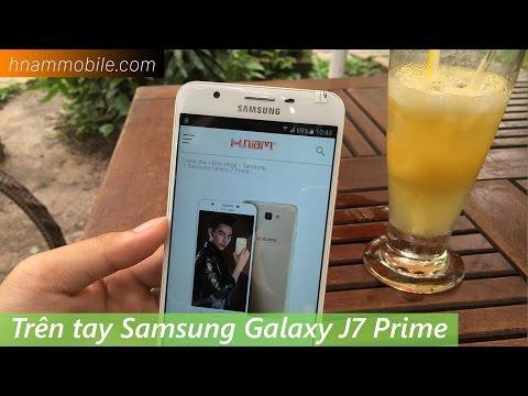 """Trên tay Galaxy J7 Prime """"kẻ hủy diệt"""" ở phân khúc tầm trung."""
