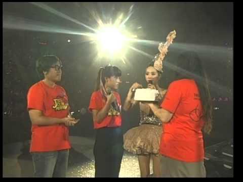 Jolin Tsai 蔡依林 『MYSELF巡迴演唱會_北京安可場』好友孫燕姿及歌迷生日祝福