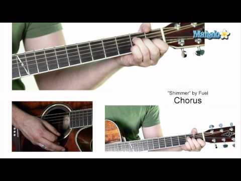 """How to Play """"Shimmer"""" by Fuel on Guitar"""
