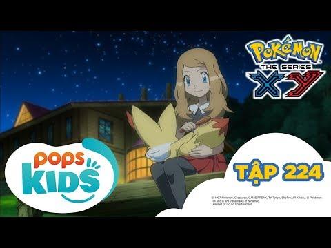 Pokémon Tập 224 - Trại Hè Pokémon! Gặp Mặt Bộ Ba Đối Thủ  - Hoạt Hình Tiếng Việt Pokémon S17 XY - Thời lượng: 21:28.
