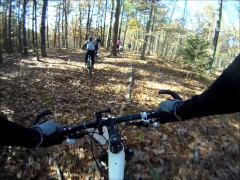 BT Epic Mountain Bike Race, Steelville Missouri, October 27 2012