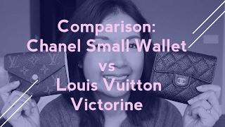 Video Wallet Comparison: CHANEL Small Wallet vs. Louis Vuitton Victorine   LalaLV MP3, 3GP, MP4, WEBM, AVI, FLV Juni 2018