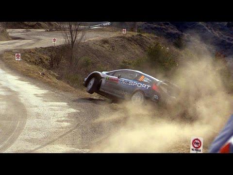 Vídeo salida pista Ott Tanak sábado WRC Rallye Montecarlo 2015