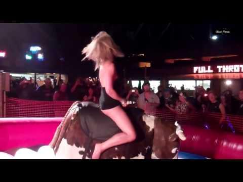 Best compilation of women riding bulls ! FULL