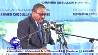 Daawo: Khudbaddii Ra'iisul Wasaaraha Ethiopia Ee Caleema Saarka Farmaajo