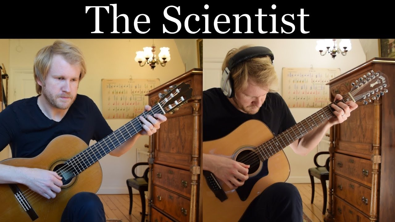 Coldplay – The Scientist (Acoustic Classical and 12-string Guitar Cover by Jonas Lefvert)