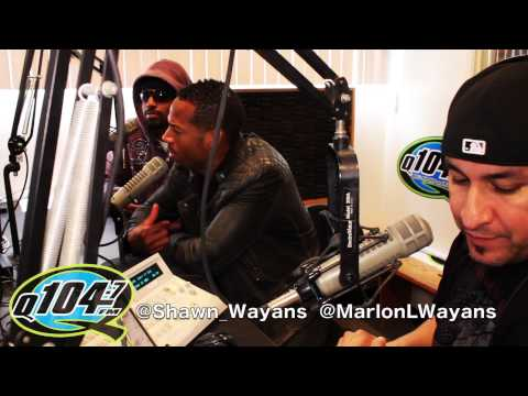 Shawn and Marlon Wayans Interview on Q104.7 The Rico and Mambo Morning Show
