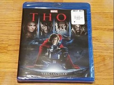 Thor Blu-ray Unboxing