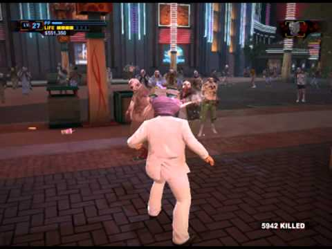 LET'S PLAY DEAD RISING 2 OTR Sandbox mode: Part 3 - JOHNNY WALKER WAY POINT FAIL!