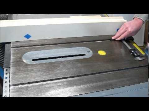 Mag-Dro Mitre Slot Base: Fence Alignment
