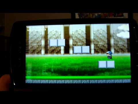 Video of Platformer indev