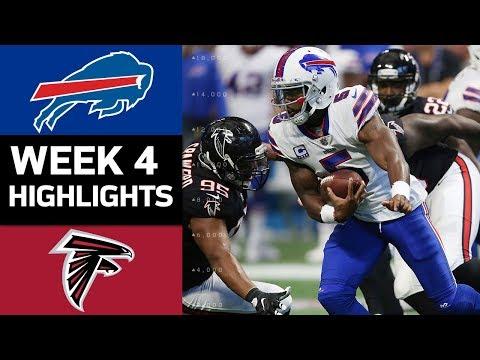 Video: Bills vs. Falcons | NFL Week 4 Game Highlights