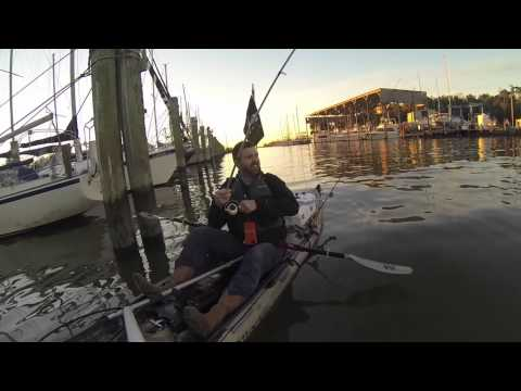 January Kayak Fishing - kayak fishing, kayak photos, kayak videos