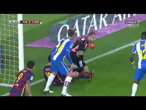 FC Barcelona Vs  Espanyol FULL MATCH SECOND PART  06.01.2016