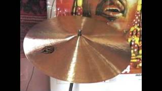This time it's a Jazz Crash, 16 Inch.  It's a Medium-Thin, very light, soft crash. Comes at 870 Grams.These videos are intended only as a guide. I am uploading them because there are very few samples of Diril Cymbals available. Please do not judge the actual sound of the cymbals based on these videos, they are so much better than my humble recording equipment could ever illustrate.