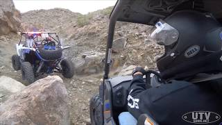 5. Rock Crawling up Claw Hammer in our Yamaha Wolverine X2