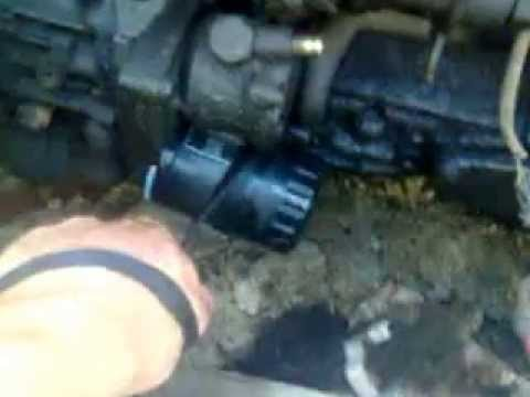 Замена фильтра масляного форд транзит фотка