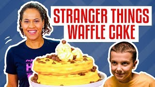 Video How To Make A Stack Of WAFFLES CAKE For ELEVEN From STRANGER THINGS | Yolanda Gampp | How To Cake It MP3, 3GP, MP4, WEBM, AVI, FLV Maret 2018
