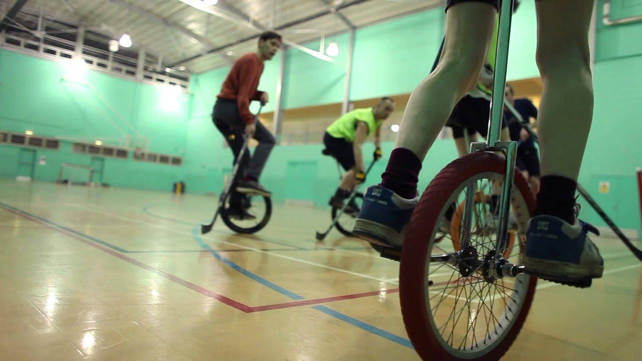 The Amazing Sport of Unicycle Hockey