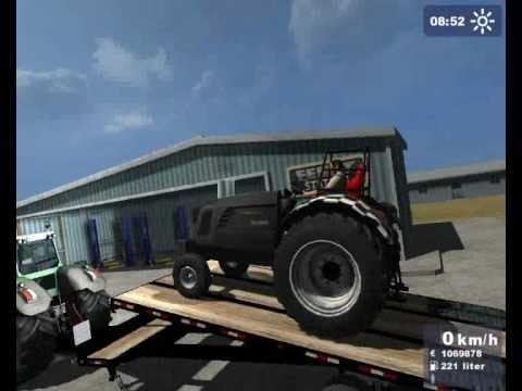 Tractorpulling, Hurricane - Landwirtschafts simulator 2009!