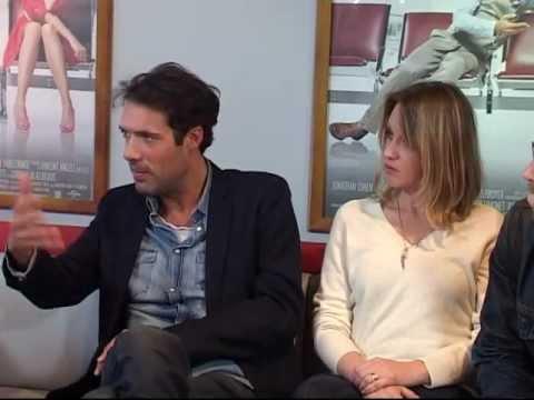 Confidences de Nicolas Bedos et de Ludivine Sagnier face à nos caméras