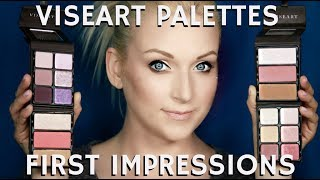 """In this STEP BY STEP BEAUTY TUTORIAL I am sharing my First Impressions of the Brand New Viseart Cosmetics Blush and Bronzer Palettes and their new Eyeshadow Palettes for Summer Spring and Fall. Remember to click on the THUMBS UP TAB if you liked this video and leave me a comment down below!  SUBSCRIBE TO MY BEAUTY CHANNEL RIGHT HERE for weekly Beauty Demos, Product Reviews, Makeup Tutorials, and MORE! http://bit.ly/1pX0dBgWould YOU like to be updated on my newest Online Courses , Makeup Classes & Seminars? Sign up here http://bit.ly/2axZUOpCHECK OUT SOME OF MY OTHER AMAZING BEAUTY DEMOS HERE-PART 1 OF THIS SERIES HEREHow to Custom Blend Foundation for Light Pale Skin Tutorial http://bit.ly/2tuEMjRDramatic Bridal Wedding Makeup Tutorialhttp://bit.ly/2uWzmftFOLLOW ME on FACEBOOK every Wednesday at 5pm PST during my LIVE Q&A on my Fan Page http://www.facebook.com/mathias4makeupLucky for you I am the only Pro Makeup Artist on YouTube that offers private makeup lessons as well! I teach one on one personal makeup lessons in L.A. at my studio or live over video conference from home, check out my vlog about how you and I can work together! http://bit.ly/1I0Eww3EXCLUSIVE PURCHASE LINKS TO THE ITEMS I RECOMMEND IN THIS STEP BY STEP TUTORIAL RIGHT HERE-FULL VISEART RANGE AVAILABLE ONLINE AT MUSE BEAUTY http://bit.ly/2uWVDtyLIKE MY EYEWEAR??? BUY YOUR OWN FRAMES AT FIRMOO HERE!FIRMOO EYEWEAR- Please use my affiliate link to get Free Shipping Worldwide for orders over $55http://bit.ly/2mepvktMY PERSONAL FILMING EQUIPMENT AND ACCESSORIES-Diva Ring Light Super Nova 18"""" Dimmable Ring Light http://amzn.to/29QMj2ZCowboy Studio 9' Foot Air Cushion Aluminum Stand for Lighthttp://amzn.to/29L0PrgThe Makeup Light Key Light Starter Kit, Nickel / White with Adjustable Gooseneck, Stand, and Shoulder Baghttp://amzn.to/29KSic1Canon EOS 80D Digital SLR Camera with Canon EF-S 18-55mm IS STM Lens + Canon EF-S 55-250mm f/4-5.6 IS STM Lens + Sandisk 32GB SDHC Memory Cards + Accessory Bundlehttp://a"""