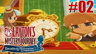*READ DESCRIPTION*Episode 02: Hands Of TimeWelcome to the newest series on the channel. Layton's Mystery Journey - Katrielle and the Millionaires' Conspiracy. If you are familiar with this series feel free to watch. If you enjoy a smaller Youtuber play this game, hit that SUBSCRIBE button to support the channel :)~Twitter~Twitter.com/ShirakoZXTV