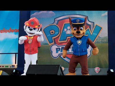 Paw Patrol Meet and Greet Chase & Marshall at Paw Patrol Ready for Action Event