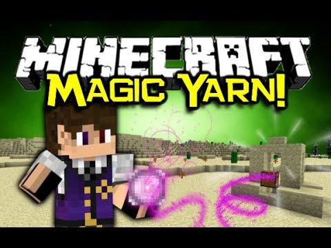 Minecraft MAGIC YARN MOD Spotlight! - Never Lose The Way! (Minecraft Mod Showcase)