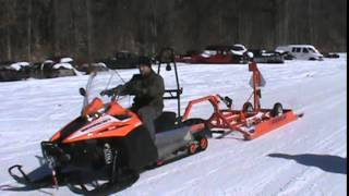 3. 2016 arctic cat bearcat 7000 gs groomer special