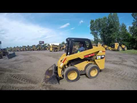 CATERPILLAR MINICARGADORAS 236D equipment video gIjeaXvN-7E