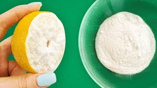 Dip a Lemon in Baking Soda, and the Result Will Amaze You!
