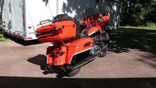 8. 2012 Harley Davidson CVO Ultra Classic Electra Glide For Sale~Very Rare and Loaded with Options!