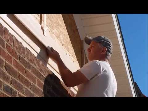 Garage Build part 7 : Install Hardie lap siding on gable ends