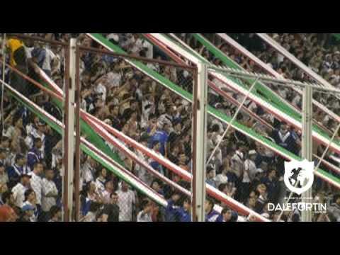 Apertura 2009 . Yo no se lo que he tomado . Hinchada - La Pandilla de Liniers - Vélez Sarsfield - Argentina - América del Sur