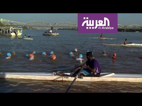 العرب اليوم - السودان ومهرجان سباحة لحماية