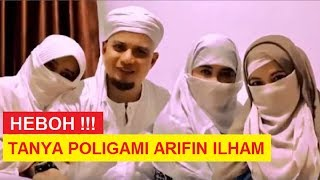 Video Bila POLIGAMI TIDAK  ADIL - Jawaban Ustadz ARIFIN ILHAM TV MP3, 3GP, MP4, WEBM, AVI, FLV Januari 2019